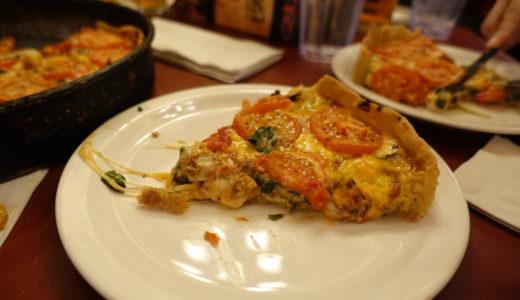 シカゴ名物 ディープ・ディッシュ・ピザの人気の老舗店『Lou Malnati's(ル・マルナーティズ)』