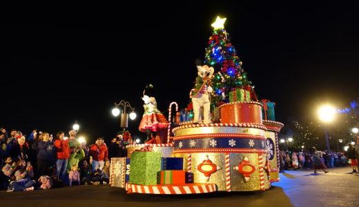 WDW  ミッキーのベリー・メリー・クリスマスパーティー♡徹底レポート